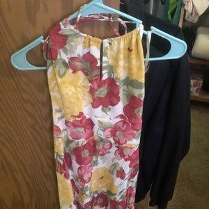 Ann Taylor Loft floral dress, 0P